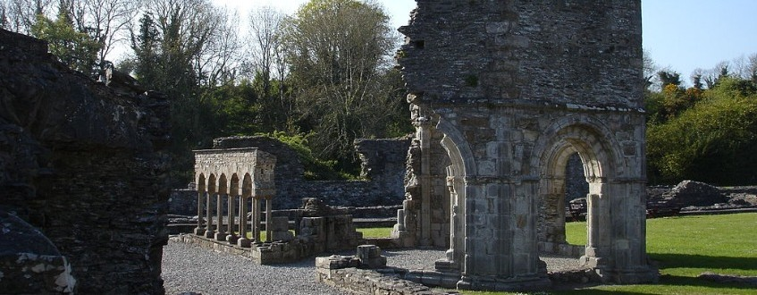 Mellifont  Abbey lavabo  County  Louth  Ireland. J P G  Thumbnail0