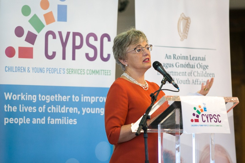 Minister  Zappone addresses  C Y P S C2018  Ntl  Event  Thumbnail0